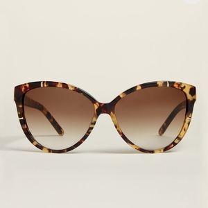 Chloe Tortoiseshell look cat eye sunglasses